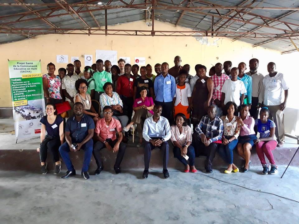 Les participants du Forum Ouvert à Port-au-Prince